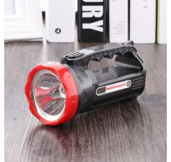 Super Bright Rechargeable 1 Or 9 LED Handheld Portable Flashlight Searchlight For Outdoor Camping Travel