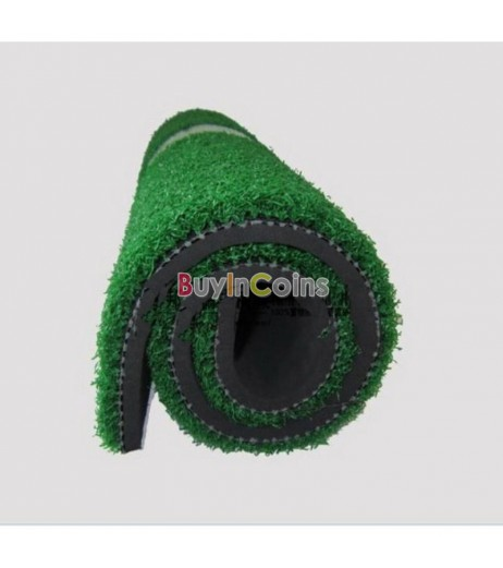 """Backyard Golf Mat 12""""x24"""" Residential Practice Golf Mat Rubber Tee Holder"""