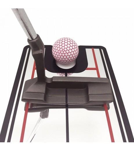 Golf Putting Mirror Alignment Training Gesture Aid Swing Trainer Line Motion Practice Tool