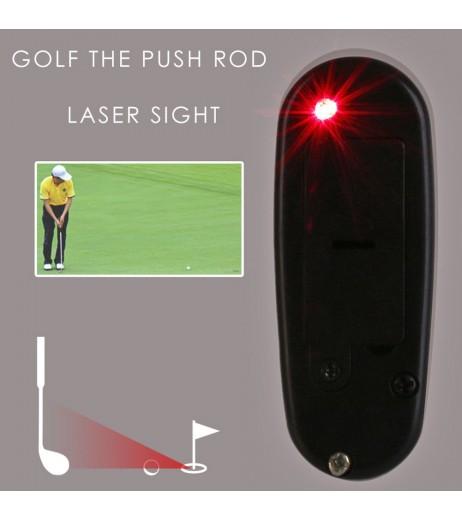 Golf Putter Laser Pointer Locator Putting Training Aim Line Corrector Infrared Diastimeter Golf Improve Aid Tools