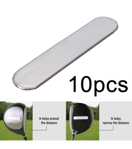 10pcs  Lead Tape to Add Swing Weight for Golf Club Tennis Racket Iron Putter New