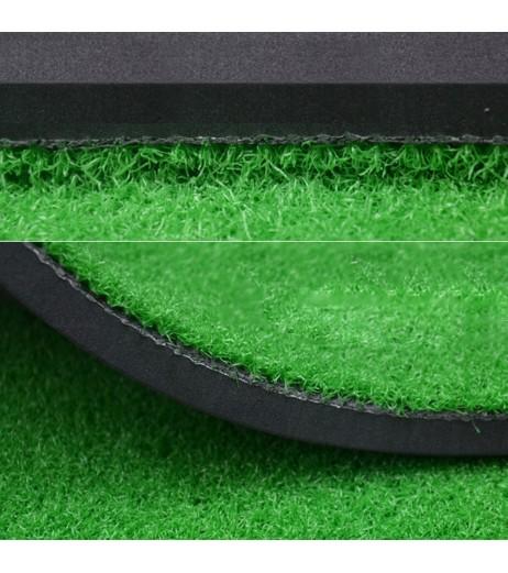 """Backyard Golf Mat 15.7""""x27.6"""" Residential Practice Golf Mat Rubber Tee Holder"""