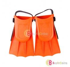 Toddler Learn Swimming kid Children Soft Adjustable Fin Flippers Swim Pool Beach