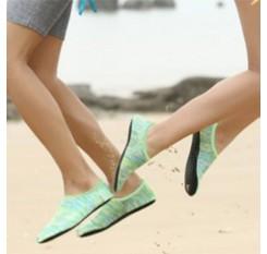 Green Line Beach Shoes Adult Children Diving Socks Scuba Snorkeling Swim Seaside Boots Wetsuit Prevent Scratche Warming Non-slip Yoga Socks