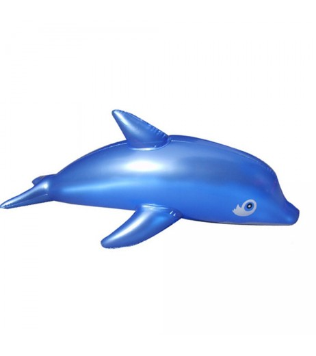PVC Inflatable Dolphin Animal Blow Up Pool Swimming Toys For Kids Fun Gift