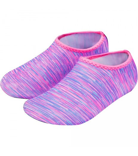 Purple Line Beach Shoes Adult Children Diving Socks Scuba Snorkeling Swim Seaside Boots Wetsuit Prevent Scratche Warming Non-slip Yoga Socks