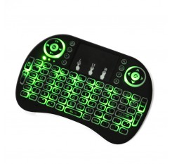 Mini Wireless 2.4Ghz Keyboard Backlit,Three Light Switch, Perfect for Raspberry Pi PC / Android bd