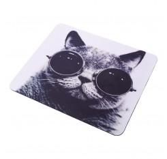 Sunglasses Cat Kitten Lovely Computer Mouse Pad Mat PC Mice