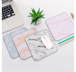 Marble Pattern Design Mouse Pad Non-slip Student Thickening Gaming Mouse Pad Desk Mat