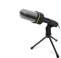 Professional Condenser Audio Microphone Mic Studio Sound Recording w/Shock Mount