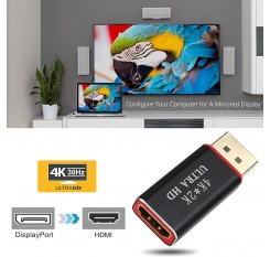 Display Port DP Male to HDMI Female Cable Converter Adapter for PC 4K*2K 3D