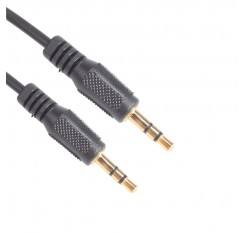 0.3M 1ft 3.5mm Gold Plated Plug Jack Male to Male Car AUX Stereo Audio Cord Cable