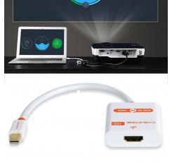 Mini DisplayPort Mini DP Thunderbolt Mini DisplayPort Para HDMI Adaptador 1080p