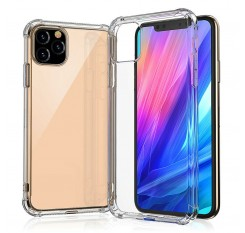 Shockproof Silicone Phone Case For iphone 11/11 pro Max Cases Transparent Protection Back Cove