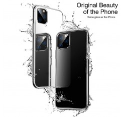 For iPhone 11 2019 Glass phone case Support Wireless Charging for iPhone 11 Pro Max 5.8inch 6.1inch 6.8inch New