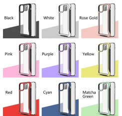For iPhone 11 2019 Case Hybrid Heavy Duty Shockproof Clear Back Cover