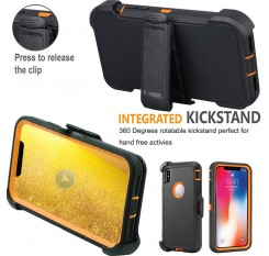 For Apple iPhone X / XS Max 10 Case Protective Defender Shockproof Hybrid Cover