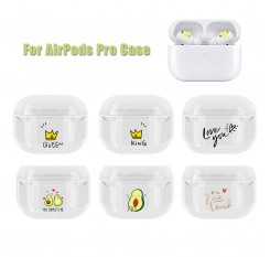 Transparent Case For AirPods Pro Case Hard PC Cover Bluetooth Earphone Protective Earphone Cover for AirPods 2019 Accessories
