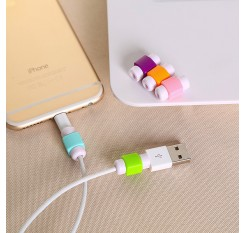 Lightning USB Charger Cable Saver Protector Cable Protector Charging Line Earphone Apple MacBook Pro Air Iphone