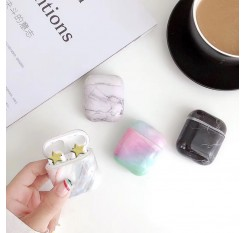 Case For Apple Airpods Marble Cute Cover For Apple Airpods 2 1 Case Accessories Headphone Case Box