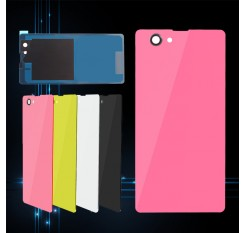 New Back Door Battery Rear Case Glass Cover For Sony Xperia Z1 Mini