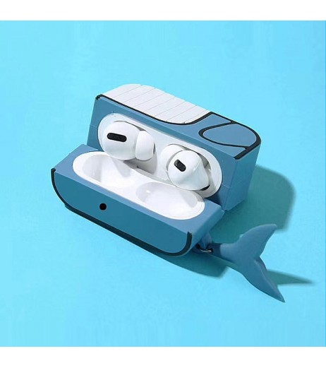 3D Headphone Case For Airpods Pro Case Silicone Cartoon Earphone/Earpods Cover For Apple Air pods Pro Case Keychain