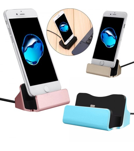 Lightning USB Charger Charging Dock Cradle Stand Station For  IPhone 7 6s Plus X 8 8 plus Chargers