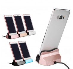 Universal Charging Dock Station Desktop Docking Charger Sync Data USB Cable For Type C