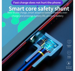 5A Supercharge USB Type C Cable for Huawei P20 Lite P30 Pro Quick Charging Fast Charger USB C Cable for Samsung S10 S9 USBC