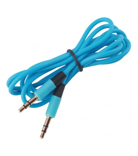 3.5mm Male to Male Plug Jack Stereo Audio AUX Cable for iPhone iPod MP3 #4