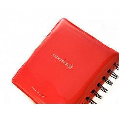 Jelly Mini Photo Album for Fujifilm Instax Mini 210 Films - Red