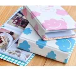 Fuji Mini Book Photo Album for Fujifilm Instax Mini Films - Blue Cloud