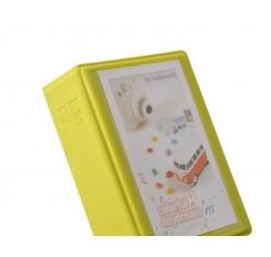 Small Colorful Photo Album for Fujifilm Instax Mini Films - Yellow