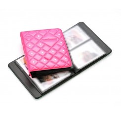 Diamond Photo Album With Swarovski Crystal For Instax Film - Magenta