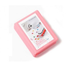 Small Colorful Photo Album for Fujifilm Instax Mini Films - Baby Pink