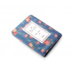 Retro Rose Photo Album for Fujifilm Instax Mini Films - Blue