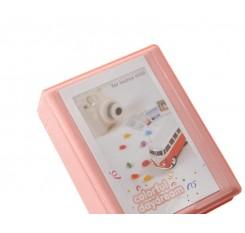 Small Colorful Photo Album for Fujifilm Instax Mini Films - Pink