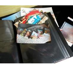 "PU Leather Photo Album for Kodak Photos 3.5x5"" - Blue"