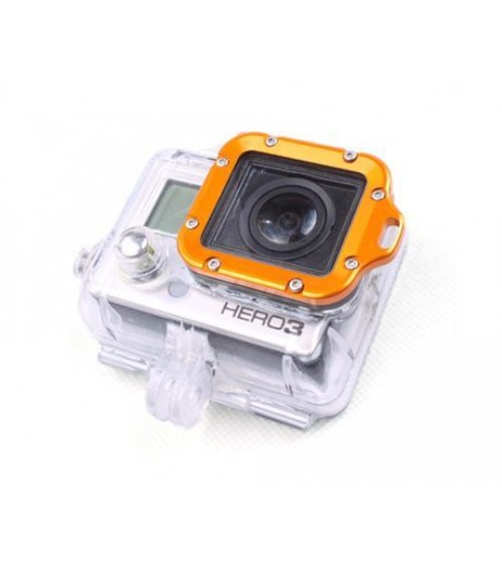GoPro Aluminum LANYARD RING Mount for Hero 3 Black Edition - Gold