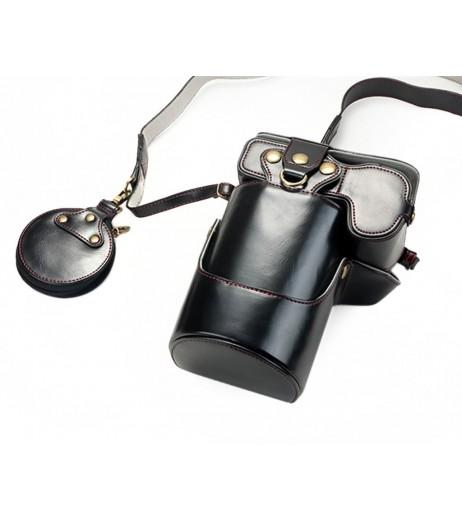 Premium Series Canon EOS R Camera Leather Case