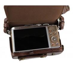 Premium Series Olympus E-PL9 Camera Leather Case