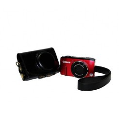 Retro Canon PowerShot SX280 HS Camera Leather Case