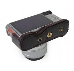 Premium Series Fujifilm X-A5 Camera Leather Case