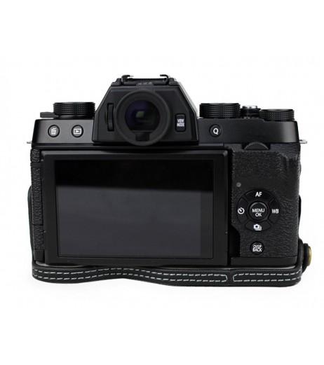 Fujifilm X-T100 Genuine Leather Half Camera Case