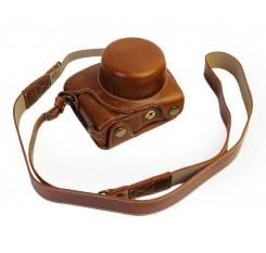 Premium Series Nikon J5 Camera Leather Case