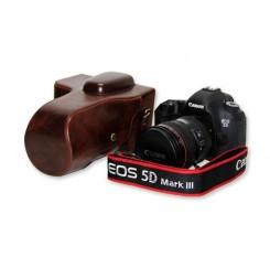 Retro Canon EOS 5D Mark III Camera Leather Case