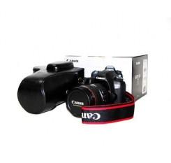 Retro Canon EOS 6D Camera Leather Case