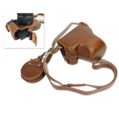 Premium Series Canon EOS M6 Camera Leather Case