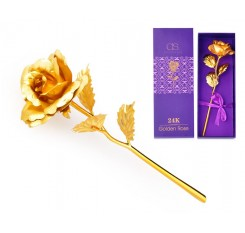 24K Golden Rose with Gift Box