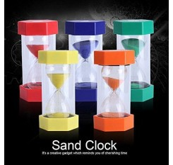 10 Minute Hourglass Sand Timer - Green